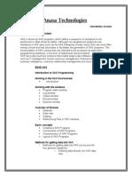 SAS Curriculum