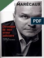Alain Marecaux - Chronique de Mon Erreur Judiciaire