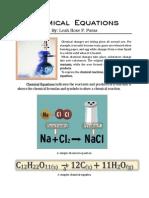 paras - chemical equations