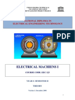 EEC 123 Electrical Machine I Theory