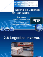 Unidad 2.6 Logística Inversa
