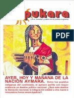 Vasques Cuentas, 2014, Nación Aymara