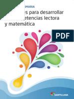Materiales Para Desarrollar Las Competencias Lectora y Matematica