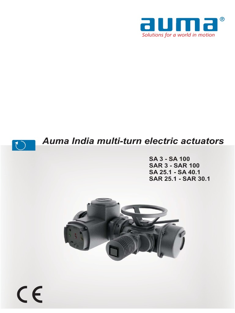 Actuator Catalogue for auma | Switch | Electrical Connector