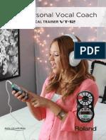 Vocal Trainer Vt 12 Brochure
