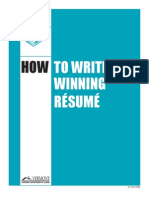 ET-56 How to Write a Winning Resume