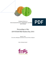 Envitam PhD Student Day 2014 Abstract book