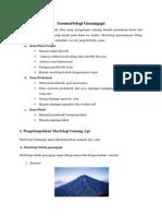 geomorfologi gunungapi