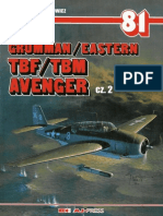 (Monografie Lotnicze No.81) Grumman/Eastern TBF/TBM Avenger, Cz.2