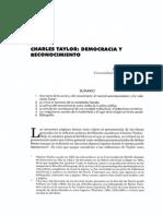 Democracia y Reconocimiento