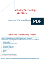 Manufacturing Technology (ME461) Lecture27
