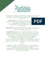 Plastidele Sunt Organite Caracteristice Celulelor Vegetale