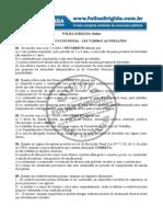 Questões Lei de Execuções Penais - FD - Depen
