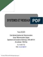 Poly 1 JAOUEN  Systemes et Réseaux Optiques