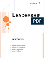 CH - 4 Leadership ACCA