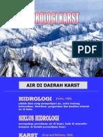 Hidrologi Karst
