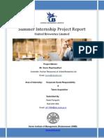 UH11054 SIP UBL Final Reportv1