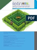 Buletin Tata Ruang Dan Pertanahan Edisi II Tahun 2013. Membangun Kelembagaan Penataan Ruang