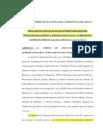 Reglamento Para El Uso Interno Del SIGI Fuero Penal