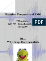 Historical Perspectives of EMG