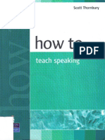 27091900 How to Teach Speaking