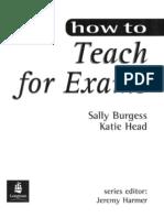 27092448 How to Teach for Exams