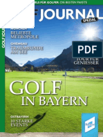 Golf in Bayern 2014
