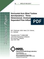 Horizontal Axis Wind Turbine Aerodynamics