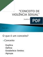 Conceito Violencia Sexual
