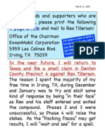 PLEASE HELP My Phase 4. Mail This to Rex Tillerson (3)