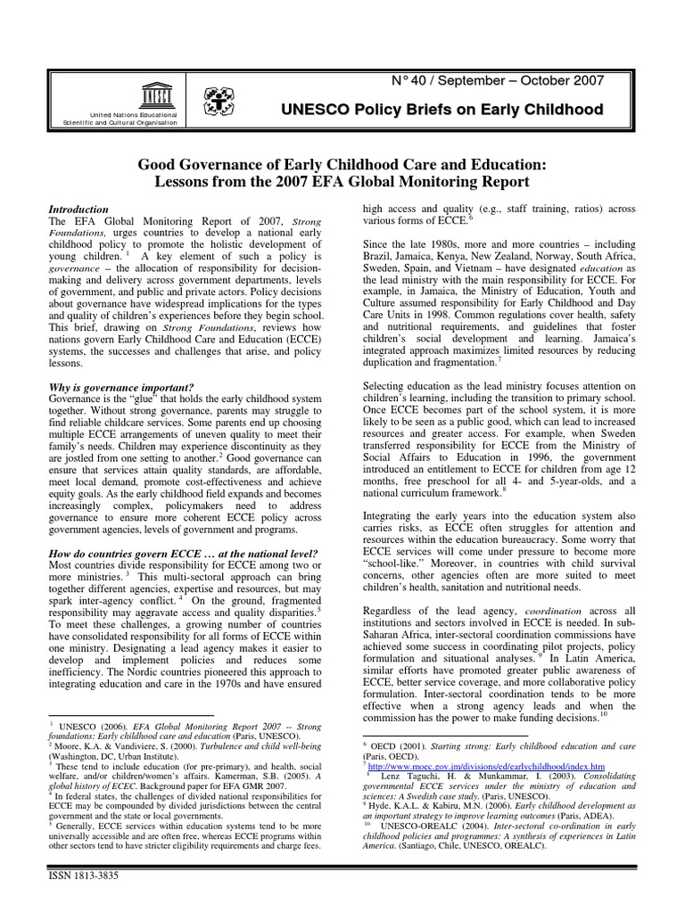 what is a good early childhood This is a collection of resources and indicators of high quality inclusive early childhood environments prepared by the frank porter graham child development.