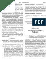 Real Decreto 1326-2002, De 13 de Diciembre