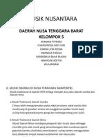 Musik Nusantara Ntb