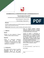 Informe Calibracion y Estadistica