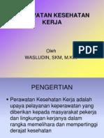 1. PERAWATAN K3