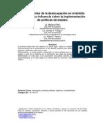 Feliz_Panigo_Perez - Determinantes de la desocupación en el ámbito regional y su influencia sobre la implementacion de politicas de empleo