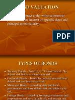 Corporate Bond Valuation