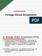 FDI- ESP