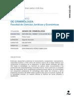 Historia Del Crimen y Evolucion Del Delito Prof Perez Caballero 10-11
