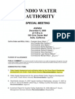 Indio Water Agenda December 6, 2006 Citrus Ranch.x PDF
