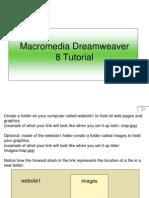 Dreamweaver 8 tutorialmweaver 8