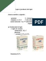 Lapte Si Produsele Din Lapte