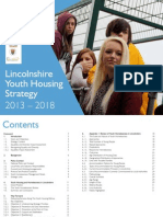 Lincolnshire Youth Housing Strategy 2013 2018