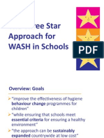 The Three Star Approach to WASH in Schools