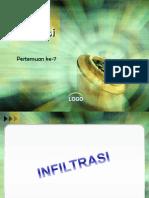 7- infiltrasi