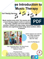 Free Introduction to Music Therapy