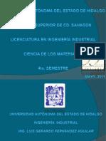 PRESENTACIÓN FINAL CIENCIA DE LOS MATERIALES