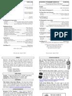 Cedar Bulletin Page - 03-09-14
