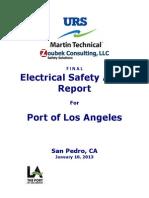 POLA Electrical Safety Audit Final 1-10-13 PDF