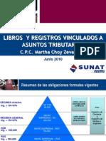 Libros y Registros Vinculados a Asuntos Tributarios SUNAT